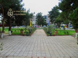 Εξωτερικό Ιερού Ναού Αγίας Βαρβάρας