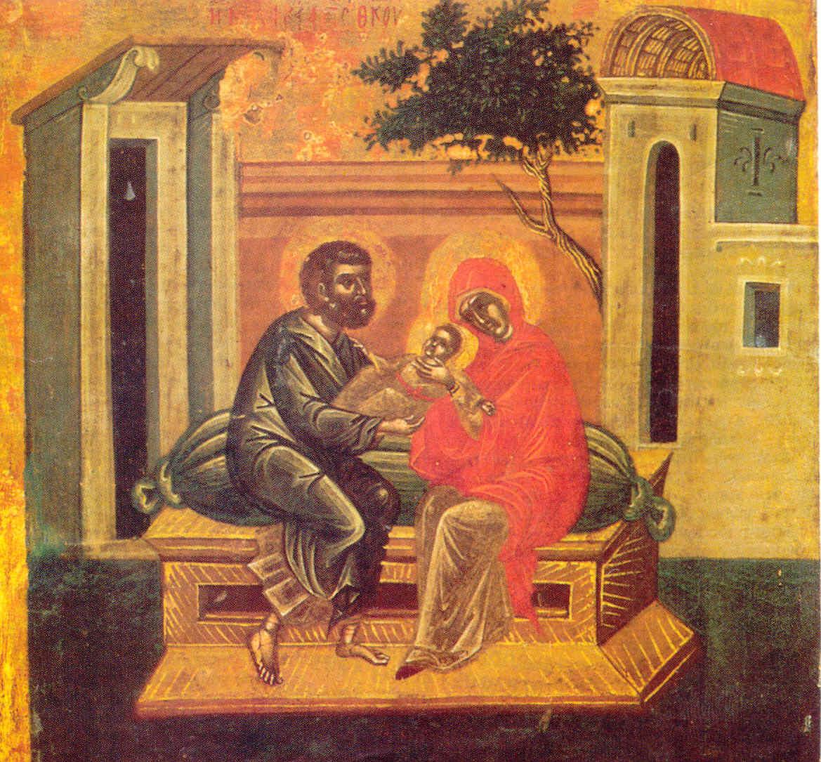 Ιωακείμ & Άννα & Θεοτόκος1