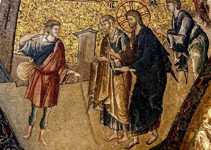 27 Αυγούστου Κυριακὴ ΙΒ' Ματθαίου (Ὁ πλούσιος νέος) | naosagiasbarbaras.gr